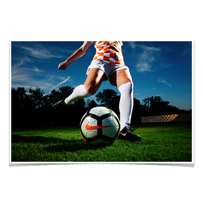 Tennessee Volunteers - Tennessee Soccer - College Wall Art #Poster