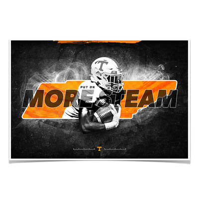 Tennessee Volunteers - More Steam - College Wall Art #Poster