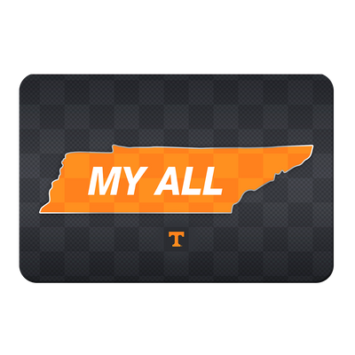 Tennessee Volunteers - My All - College Wall Art #PVC