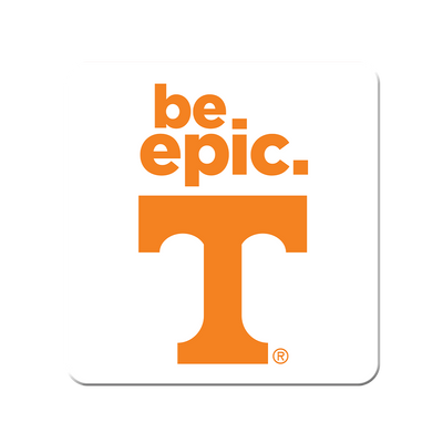 Tennessee Volunteers - Be Epic T - College Wall Art #PVC
