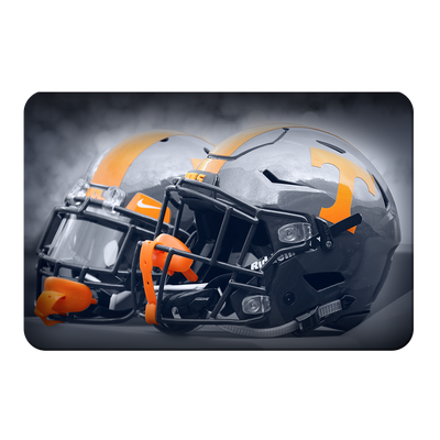 Tennessee Volunteers - Smokey Gray Helmets - College Wall Art #PVC