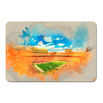 Tennessee Volunteers - Neyland Watercolor - College Wall Art #PVC