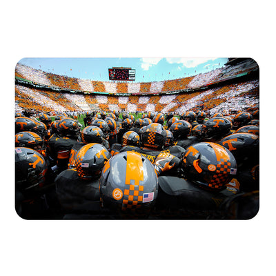 Tennessee Volunteers - Running onto the Field TN - College Wall Art #PVC
