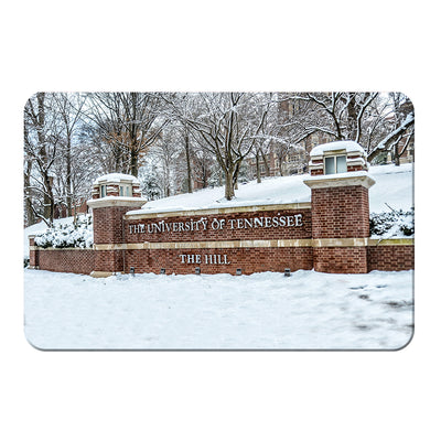 Tennessee Volunteers - Snowy Hill - College Wall Art #PVC