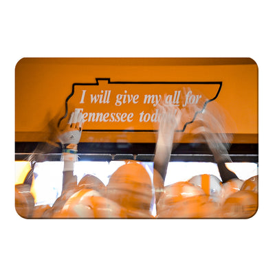 Tennessee Volunteers - Give My All - College Wall Art #PVC