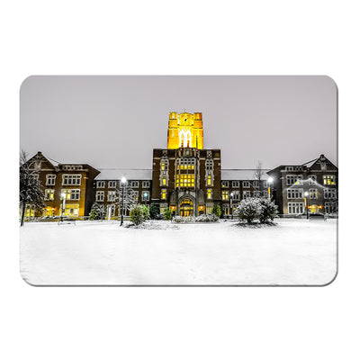Tennessee Volunteers - Ayres Hall Winter Day - College Wall Art #PVC