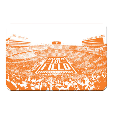 Tennessee Volunteers - Down The Field - College Wall Art #PVC