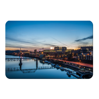 Tennessee Volunteers - River Night - College Wall Art #PVC