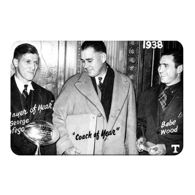 Tennessee Volunteers - Vintage Coach of the Year 1938 - College Wall Art #PVC