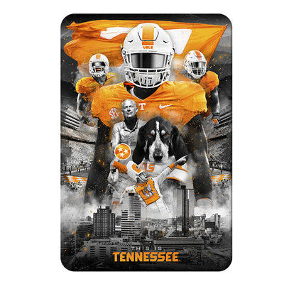 Tennessee Volunteers - This is Tennessee - College Wall Art #PVC