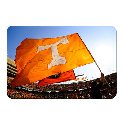 Tennessee Volunteers - T Flags - College Wall Art #PVC