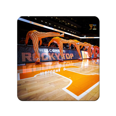 Tennessee Volunteers - Welcome to Rocky Top Basketball - College Wall Art #PVC