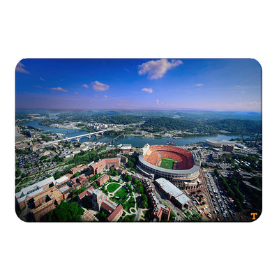 Tennessee Volunteers - Aerial Neyland on the Tennessee River - College Wall Art #PVC