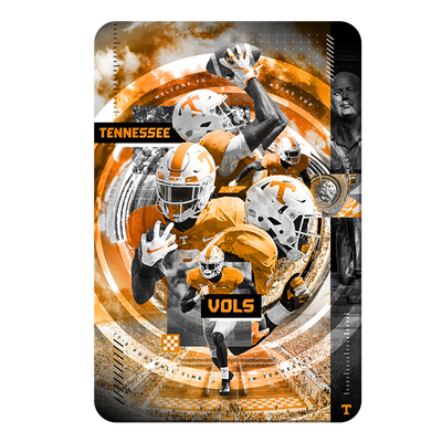 Tennessee Volunteers - Football Time - College Wall Art #PVC