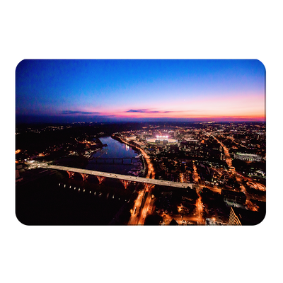 Tennessee Volunteers - Aerial sunset over Neyland - College Wall Art #PVC