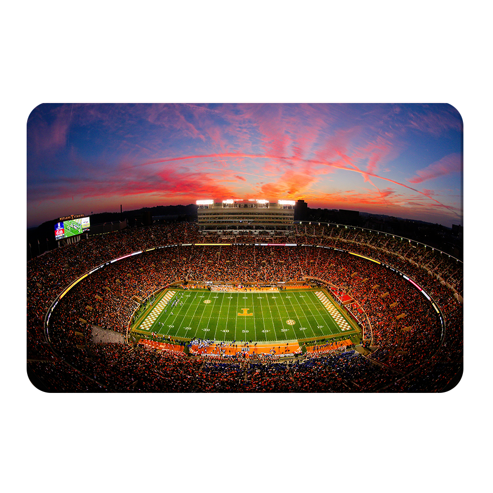 Tennessee Volunteers -Neyland Blaze - College Wall Art #Canvas