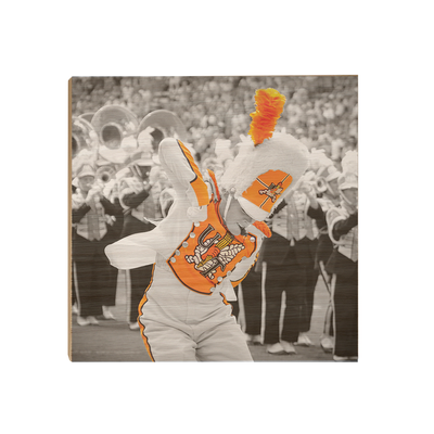 Tennessee Volunteers - Drum Major - College Wall Art #Wood