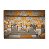 Tennessee Volunteers - Running Onto the Checkerboard Field - College Wall Art #Wood