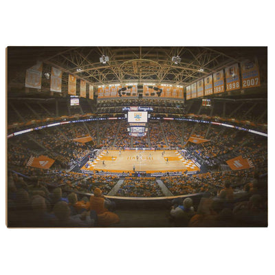 Tennessee Volunteers - Lady Vols Thompson-Boling - College Wall Art #Wood
