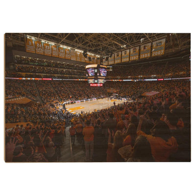 Tennessee Volunteers - Thompson-Boling B Ball - College Wall Art #Wood