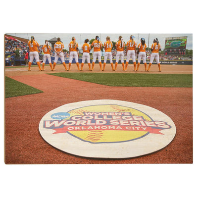 Tennessee Volunteers - WCWS - College Wall Art #Wood