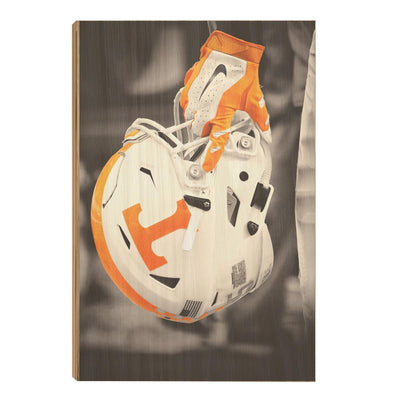 Tennessee Volunteers - Ready for Battle Smokey Orange - College Wall Art #Wood
