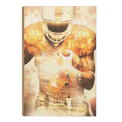 Tennessee Volunteers - Ultimate Vol - College Wall Art #Wood