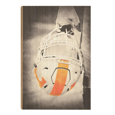 Tennessee Volunteers - Warrior Smokey Orange - College Wall Art #Wood