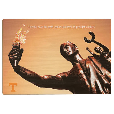 Tennessee Volunteers - Torchbearer 2 - College Wall Art #Wood
