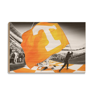 Tennessee Volunteers - Tennessee Pride - College Wall Art #Wood