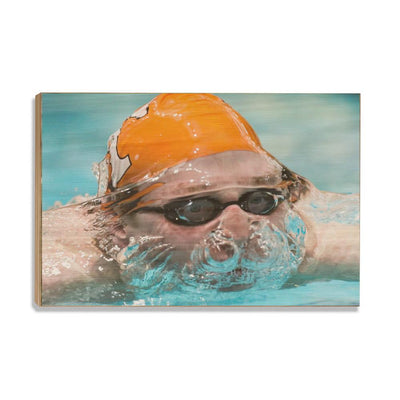 Tennessee Volunteers - Swim - College Wall Art #Wood