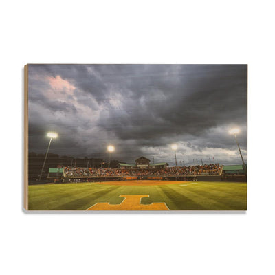 Tennessee Volunteers - Lady Vol Softball - College Wall Art #Wood