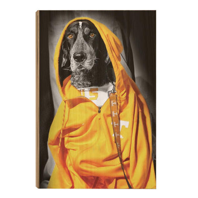 Tennessee Volunteers - Smokey Hood - College Wall Art #Wood
