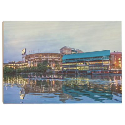 Tennessee Volunteers - Morning Row by Neyland - College Wall Art #Wood
