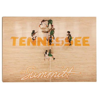 Tennessee Volunteers - The Summitt - College Wall Art #Wood