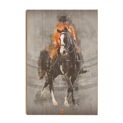 Tennessee Volunteers - TN Walking Horse - College Wall Art #Wood