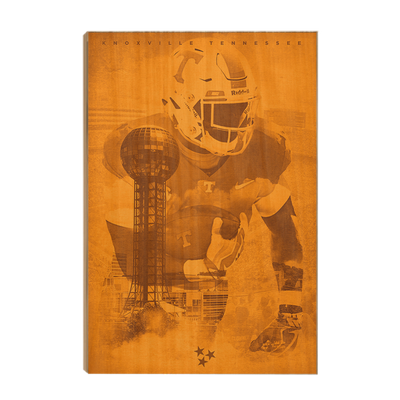 Tennessee Volunteers - Knoxville TN - College Wall Art #Wood