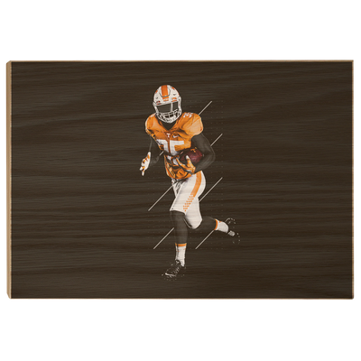 Tennessee Volunteers - Run - College Wall Art #Wood