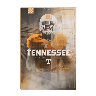 Tennessee Volunteers - Tennessee Fight - College Wall Art #Wood