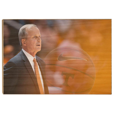 Tennessee Volunteers - Rick Barnes - College Wall Art #Wood