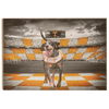 Tennessee Volunteers - Smokey's Backyard - College Wall Art #Wood