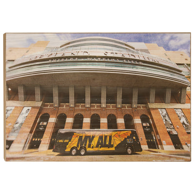 Tennessee Volunteers - Neyland Stadium My All - College Wall Art #Wood
