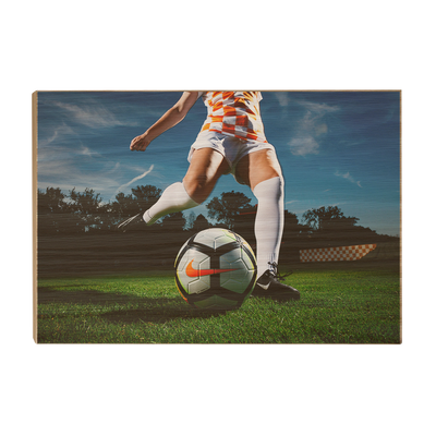 Tennessee Volunteers - Tennessee Soccer - College Wall Art #Wood