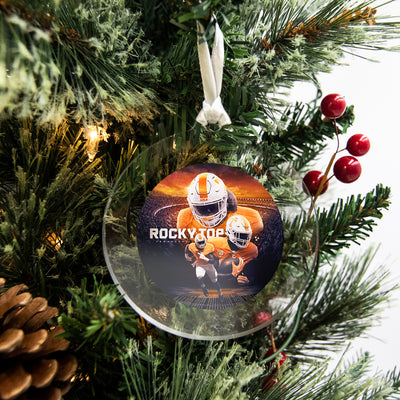 Tennessee Volunteers - Rocky Top Sunset Bag Tag & Ornament