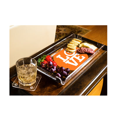 Tennessee Volunteers - TN Love Tray