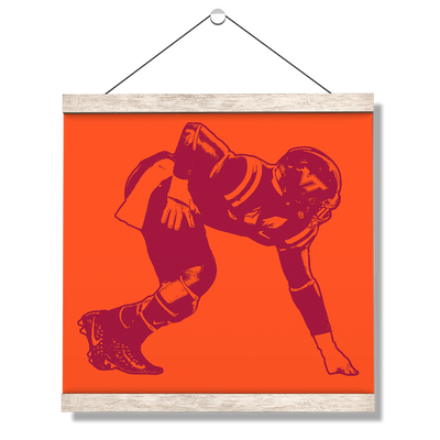 Virginia Tech Hokies - VT Defense - College Wall Art #Hanging Canvas