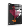 Virginia Tech Hokies - Hokie Bird 2 - College Wall Art #Acrylic