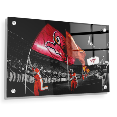 Virginia Tech Hokies - Enter Sandman - College Wall Art #Acrylic