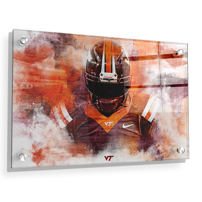 Virginia Tech Hokies - Hokie Stone - College Wall Art #Acrylic
