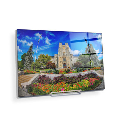 Virginia Tech Hokies - Summer Burress Hall - College Wall Art #Acrylic Mini